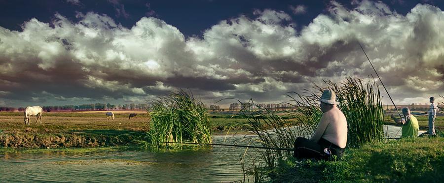 "photo ""Delta"" tags: landscape, clouds, summer"