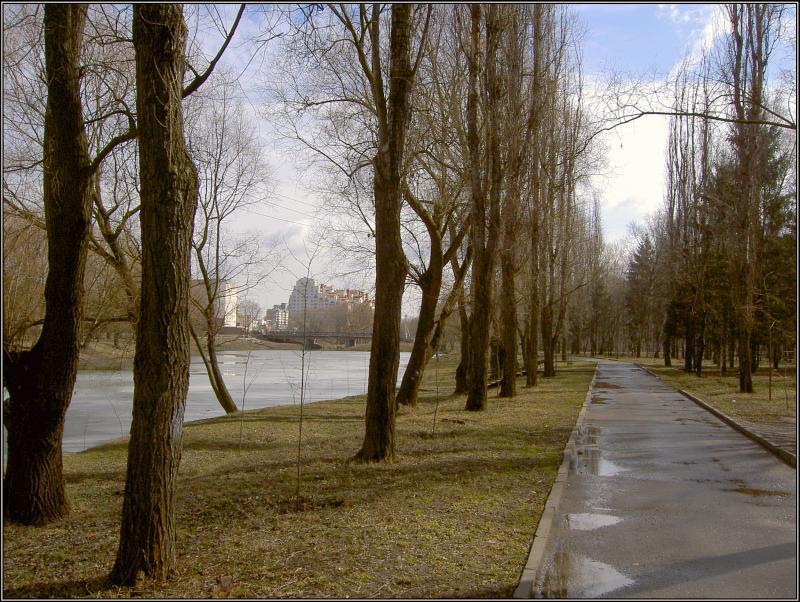 "фото ""Весной в парке"" метки: пейзаж, весна"