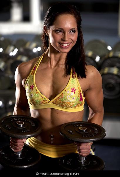 "photo ""Gym 3"" tags: portrait, woman"