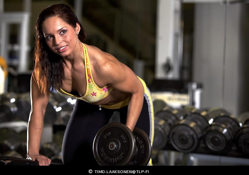"photo ""Gym 4"" tags: portrait, woman"