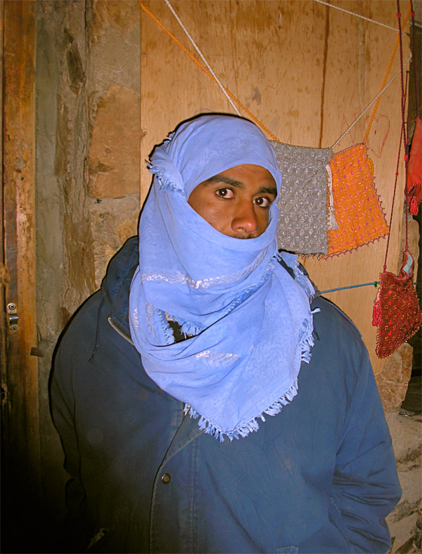 """photo """"One bedouin.."""" tags: travel, portrait, Asia, man"""