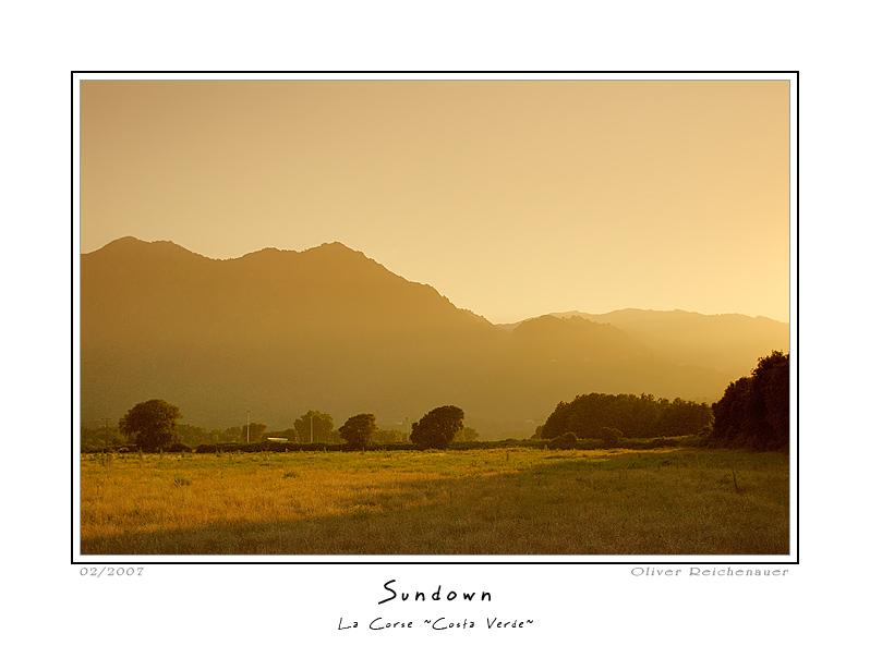 "photo ""Sundown"" tags: landscape, travel, Europe, sunset"