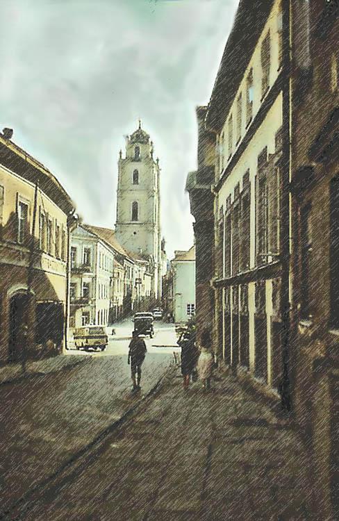 """фото """"Старый Вильнюс."""" метки: город,"""