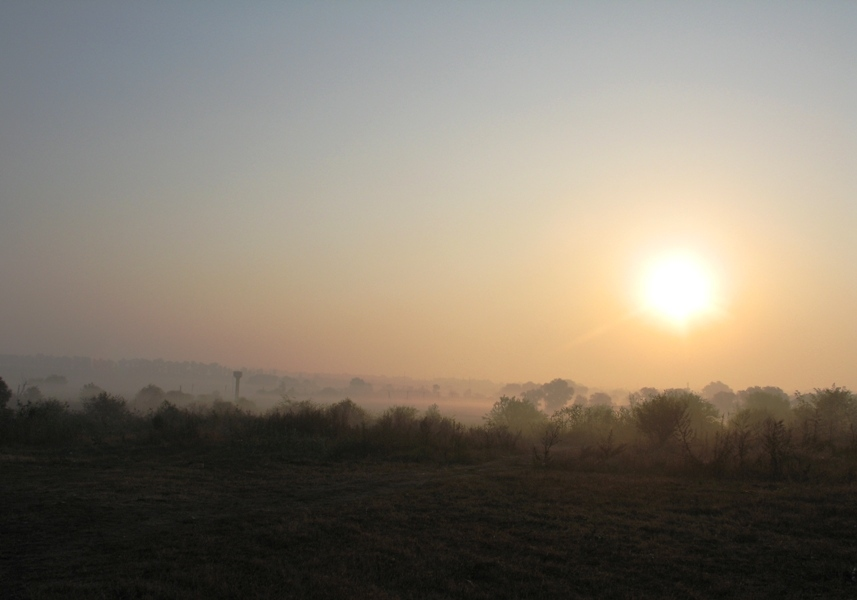 """фото """"Осень. Утро."""" метки: пейзаж,"""