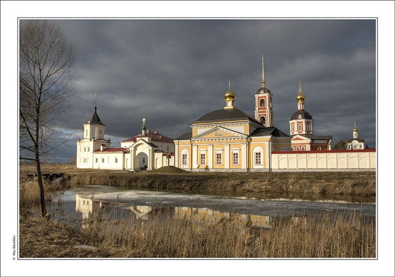"""фото """"Троице-Сергиев Варницкий монастырь..."""" метки: ,"""
