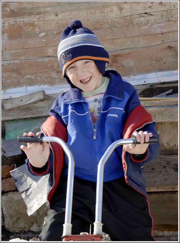 """фото """"Мой друг,Мишуня..."""" метки: портрет, дети"""