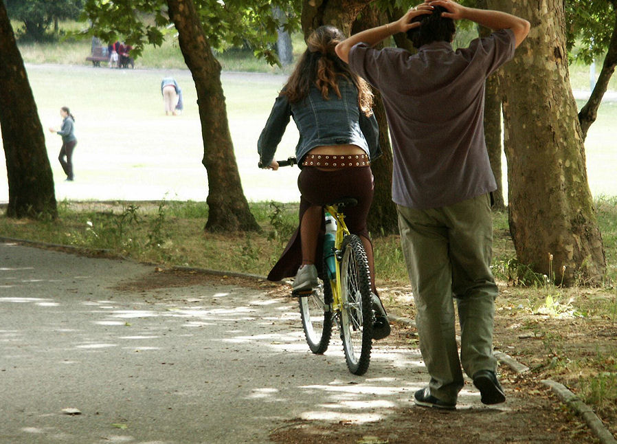 "photo ""The Portuguese love bikes 22/38"" tags: travel, Europe"