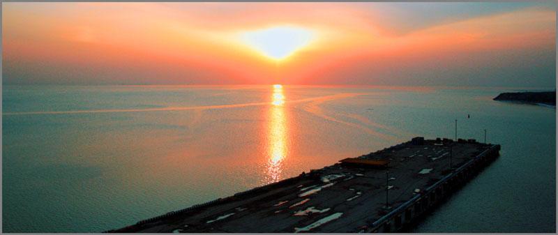 "photo ""Финский..."" tags: landscape, sunset, water"