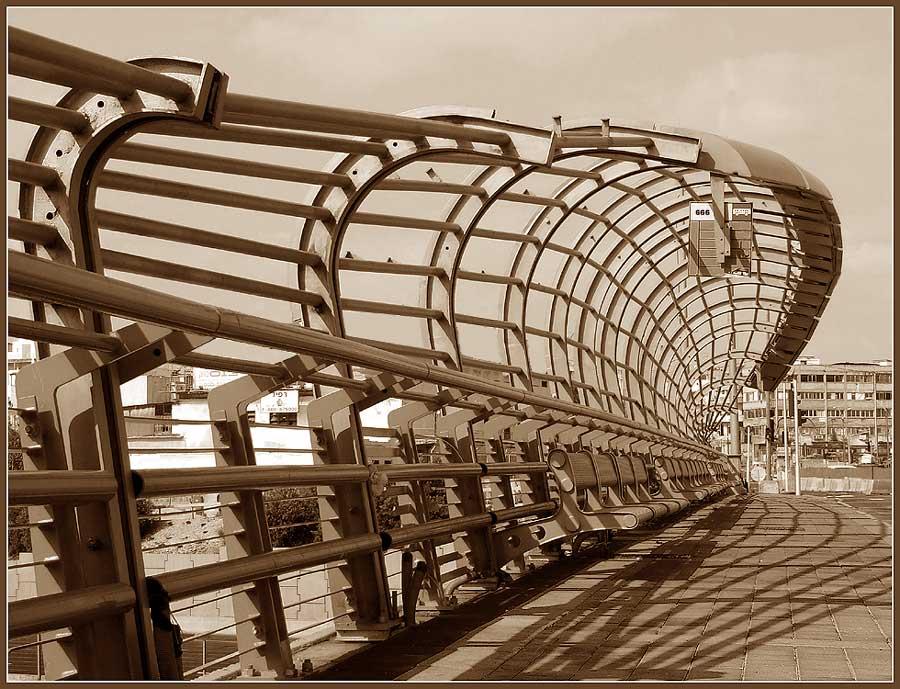 "photo ""last station 666"" tags: architecture, landscape,"