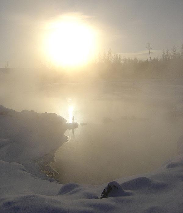 """фото """"Оттепель"""" метки: пейзаж, весна, вода"""
