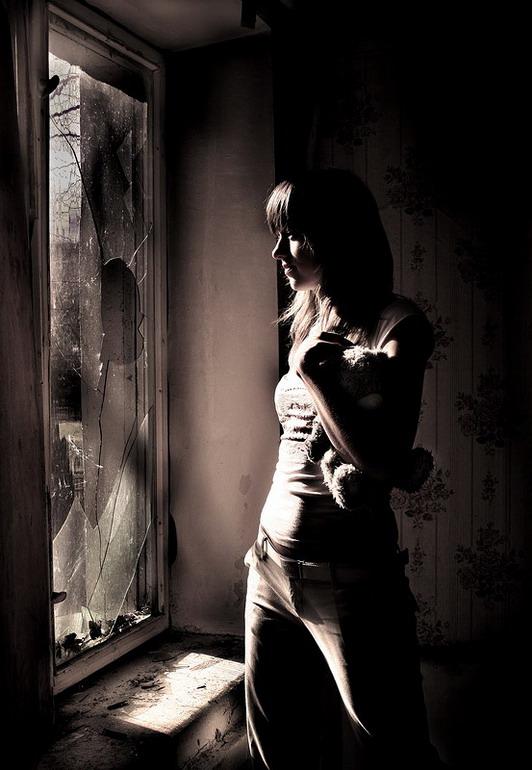 """фото """"Свет сквозь..."""" метки: портрет, женщина"""