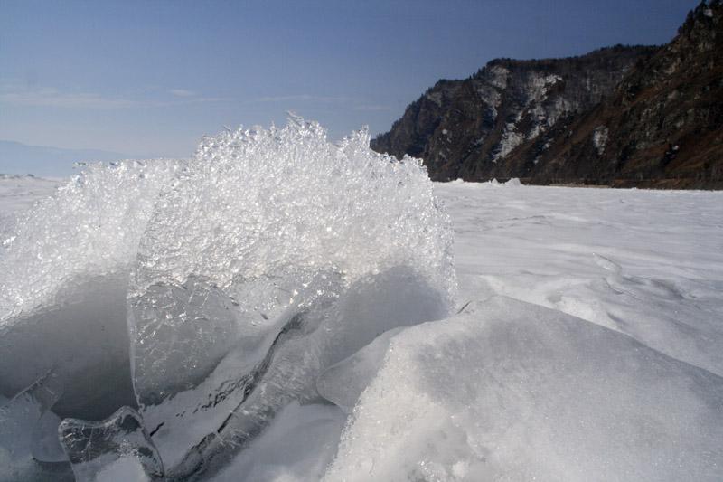 """фото """"Байкальский лед тает"""" метки: пейзаж, весна"""