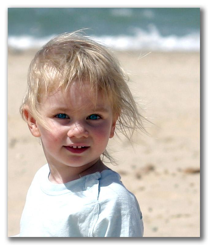 "фото ""Девочка и море"" метки: портрет, дети"
