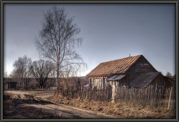 """photo """"Silent Home"""" tags: architecture, landscape, spring"""