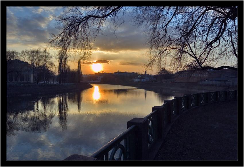 """фото """"Утомлённое солнце ..."""" метки: пейзаж, закат"""