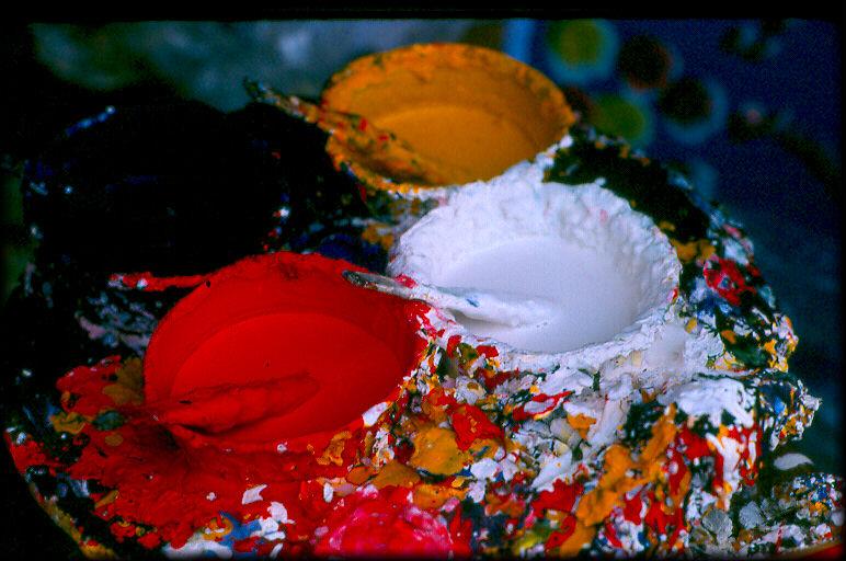 "фото ""Painter's Pallette"" метки: натюрморт,"