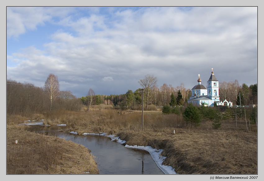 "photo ""Country church"" tags: landscape, architecture, spring"