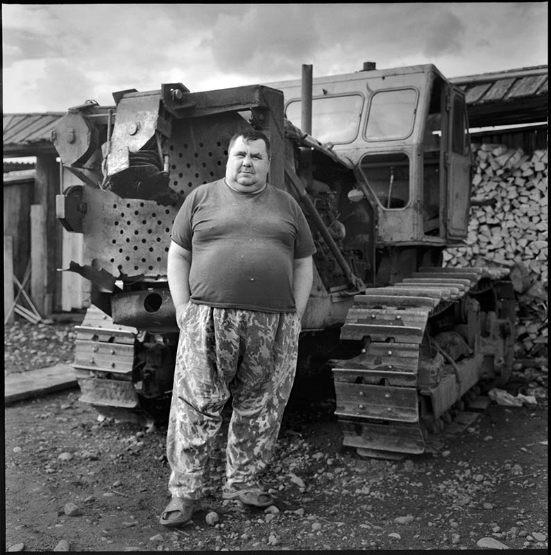 "photo ""Tractor driver"" tags: portrait, man"