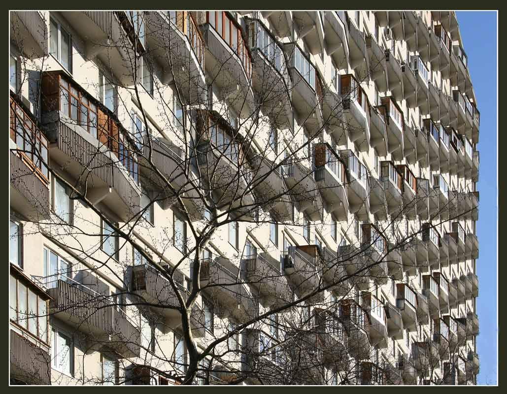 """фото """"Балконы по диагонали"""" метки: город,"""