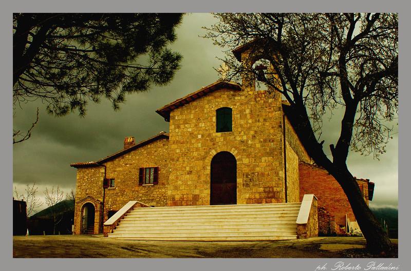 "photo ""Church of Saint Andrea"" tags: architecture, landscape,"