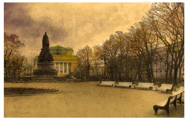 """фото """"Одинокая Катерина"""" метки: архитектура, пейзаж,"""