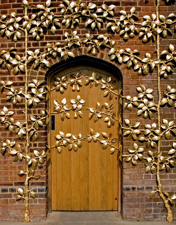 """photo """"Ornamantal door"""" tags: still life,"""