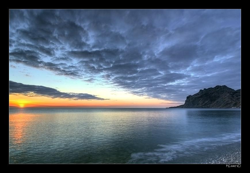 """фото """"Morning Colours"""" метки: пейзаж, закат"""