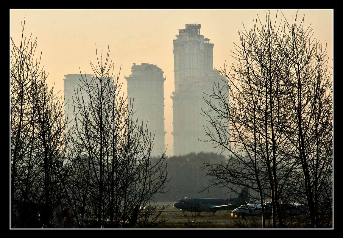 "фото ""Весеннее утро в Тушино"" метки: город,"