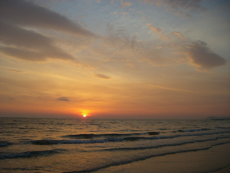 """фото """"sunrise"""" метки: пейзаж, вода, закат"""
