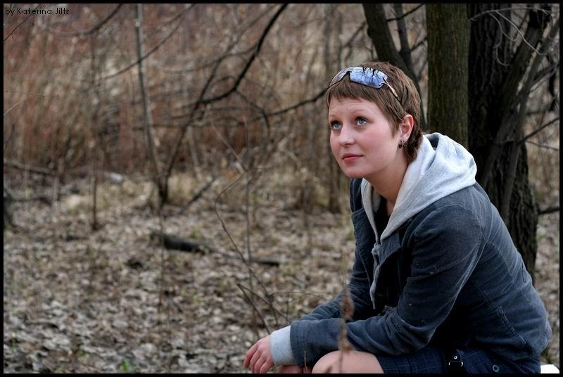 """фото """"девочка в лесу"""" метки: жанр, портрет, женщина"""