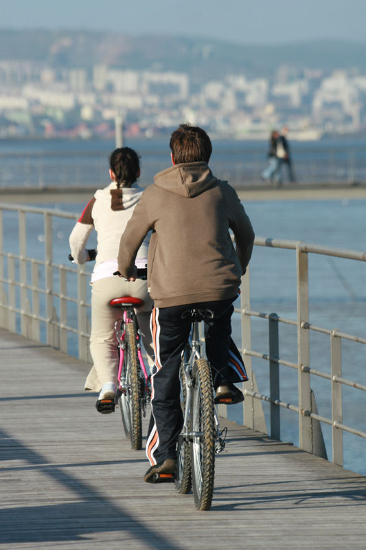 "photo ""The Portuguese love bikes 28/38"" tags: travel, Europe"