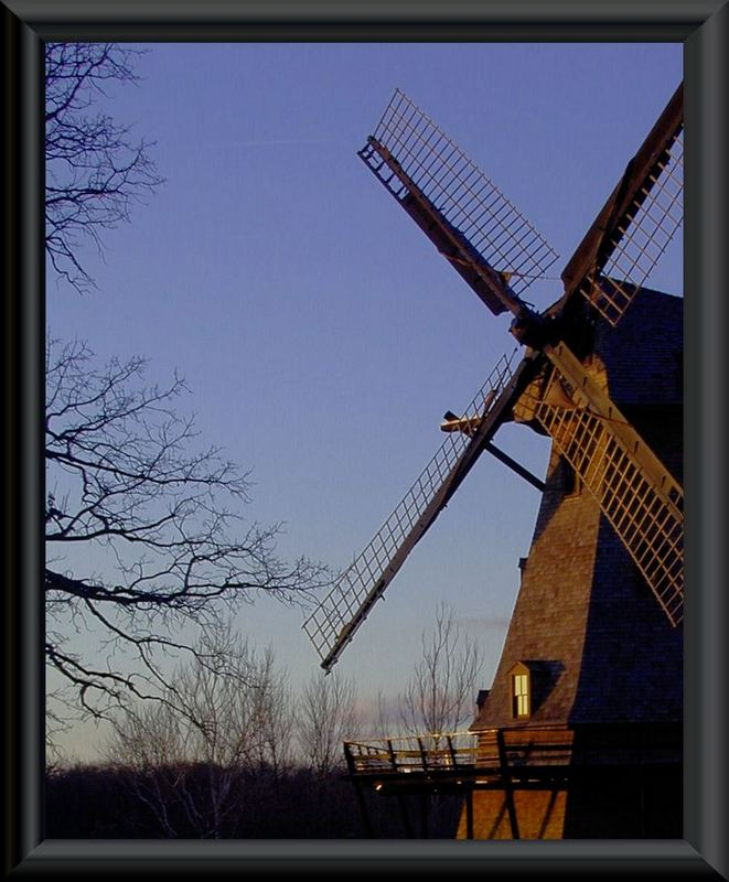 """photo """"Another Evening at the Mill"""" tags: architecture, landscape,"""
