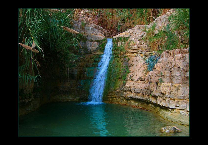 """фото """"Эйн Геди"""" метки: пейзаж, вода, горы"""