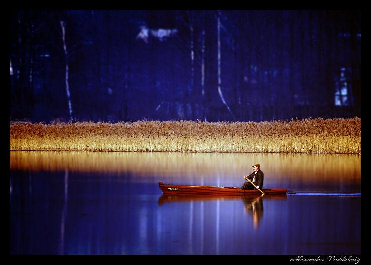 """фото """"на заре..."""" метки: пейзаж, весна, вода"""