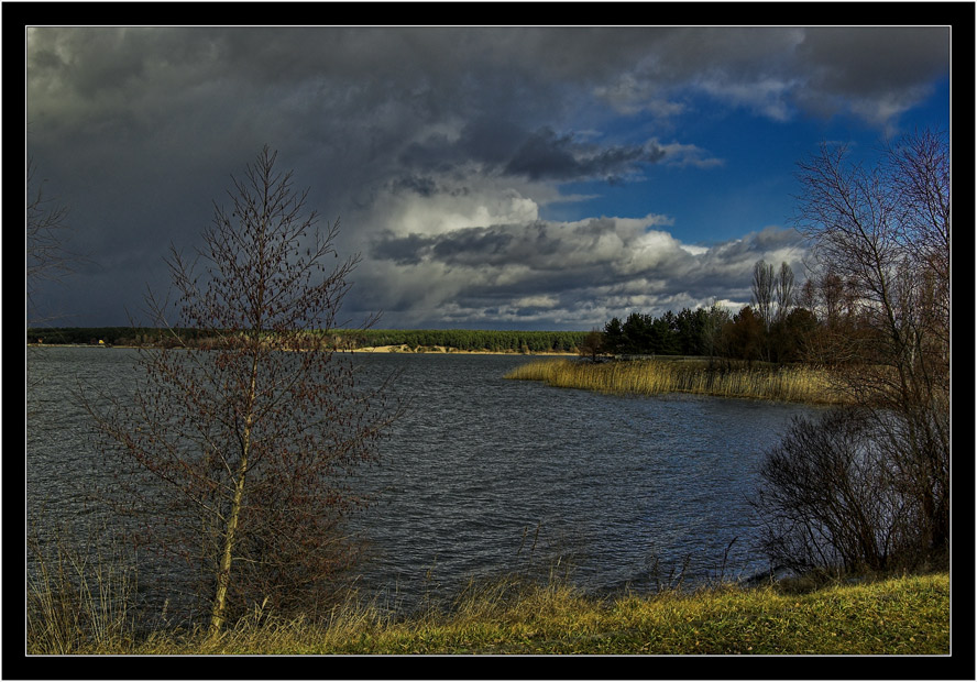 "photo ""Interval of variability"" tags: landscape, clouds, water"