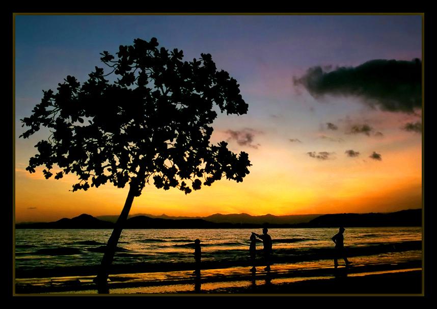 "фото ""In a summer afternoon.."" метки: пейзаж, закат"