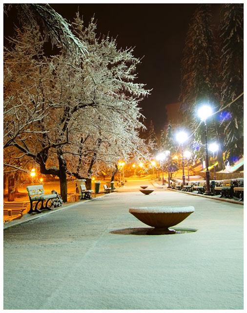 "фото ""Weekend la Slanic Moldova 2"" метки: пейзаж, зима"