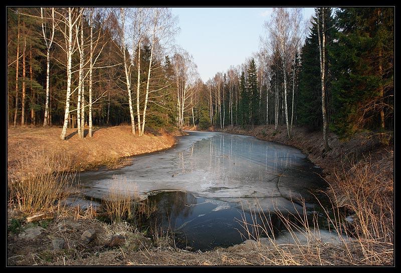 """фото """"Павловск (репост)"""" метки: пейзаж, весна, вода"""
