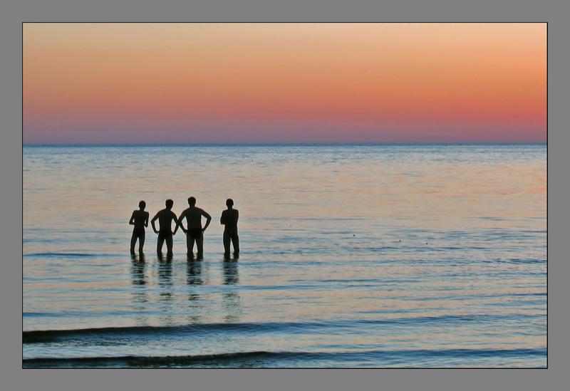 """фото """"Закат"""" метки: пейзаж, вода, закат"""