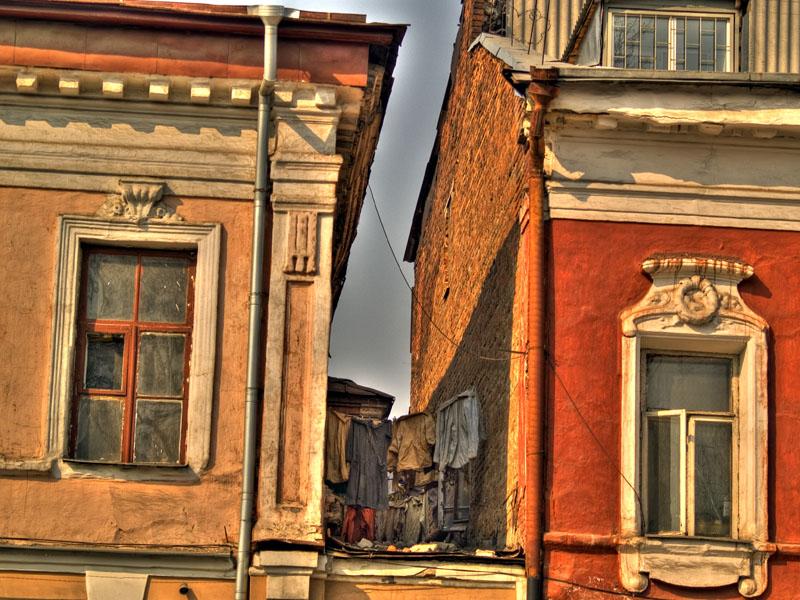 "photo ""Silent center of Kharkov"" tags: architecture, landscape,"