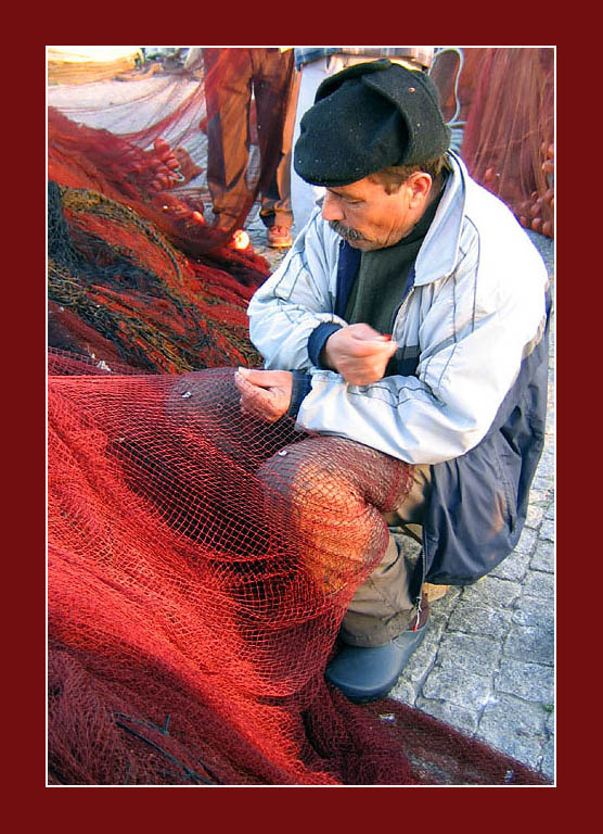 """фото """"The fisher alone"""" метки: портрет, мужчина"""