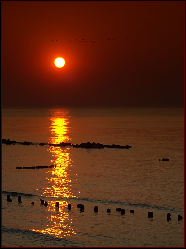 "photo ""O"" tags: landscape, sunset"