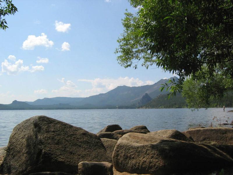 """фото """"Воспоминания о лете..."""" метки: пейзаж, вода, горы"""