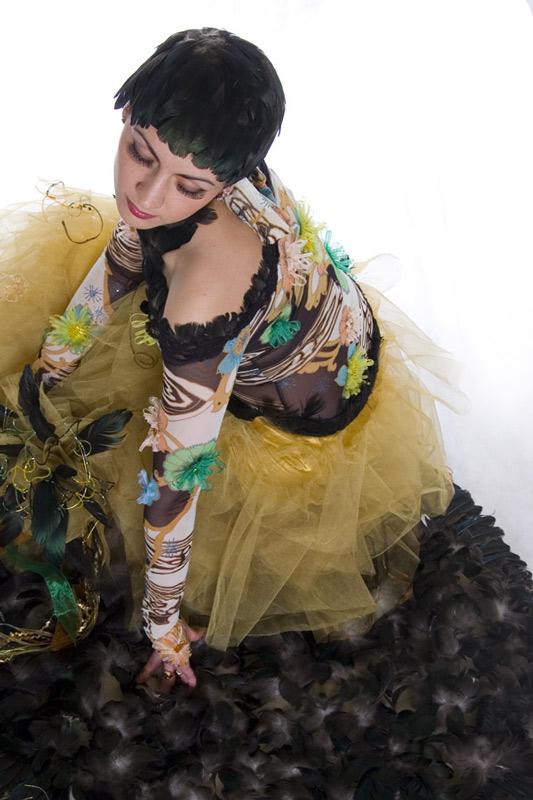 "photo ""Black Swan"" tags: portrait, misc., woman"