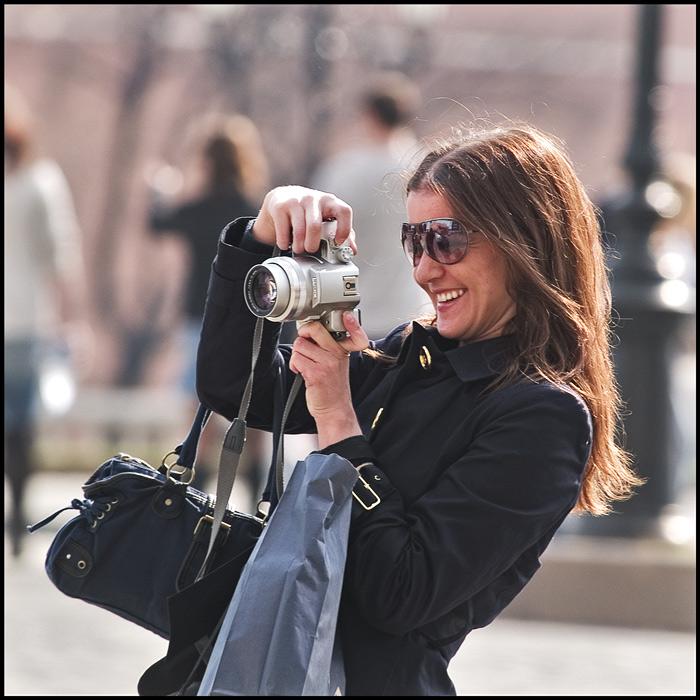 """photo """"Smiles (1)"""" tags: portrait, genre, woman"""