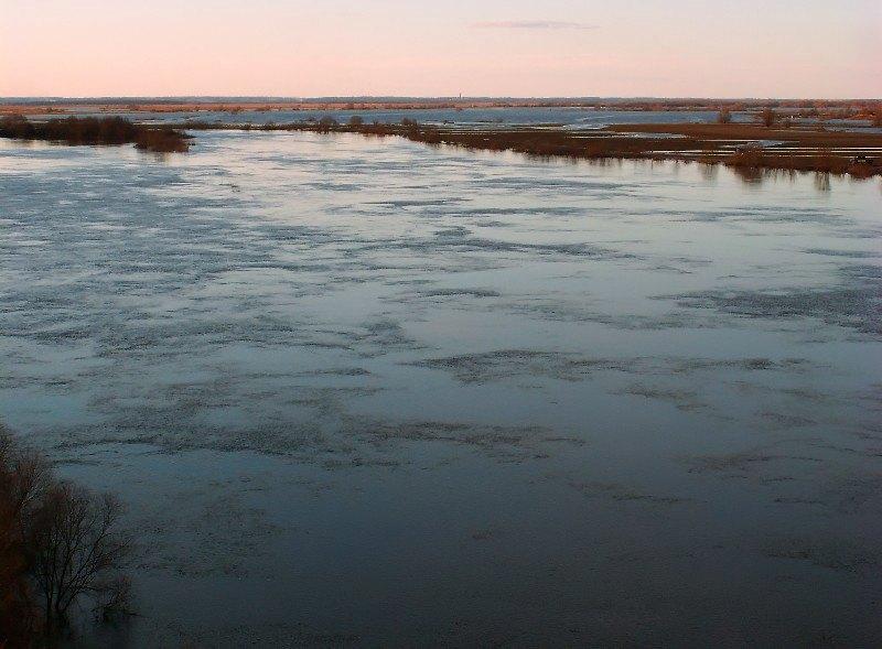 "фото ""Кругом вода"" метки: пейзаж, весна, вода"