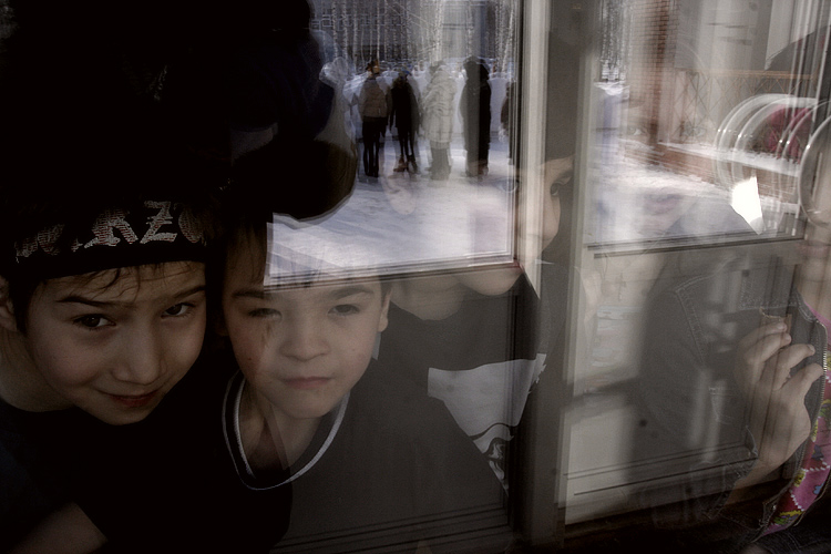 "photo ""Farewell"" tags: genre, portrait, children"