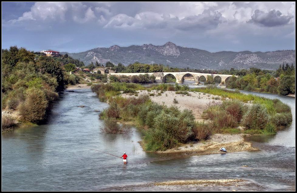 """фото """"Про рыбалку"""" метки: пейзаж, вода, горы"""