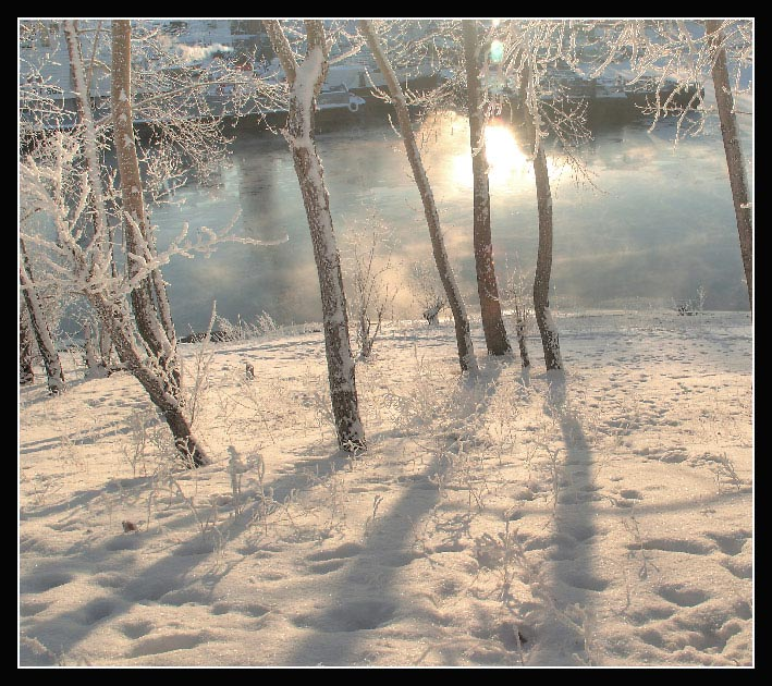 """фото """"Утро зимой"""" метки: пейзаж, зима"""