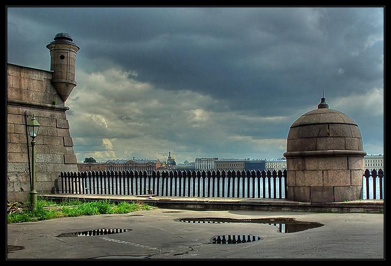 "фото ""Гроза над Питером"" метки: архитектура, пейзаж,"